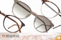 Munic Eyewear TwinEvolution Brillen Acetat Titan Modell 856 | Offensichtlich Berlin