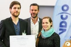 Geschafft! Der Rolf-Weinschenk-Posterpreis der VDCO geht 2015 an Lydia und Torsten