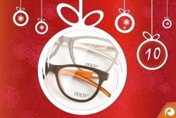 Echte Natur hinter Türchen Nr. 10 - Holzbrillen von Feb31st mit 15% Rabatt im Offensichtlich Adventskalender