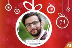 Hinter dem 11. Türchen gibt es heute Brillen von Markus T mit 20% Rabatt | Offensichtlich Adventskalender
