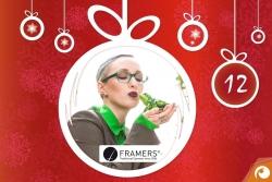 Hinter dem 12. Türchen gibt es heute Brillen von FRAMERS mit 45% Rabatt | Offensichtlich Adventskalender