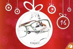 Hinter dem 16. Türchen gibt es heute Brillen von Tinpal mit 20% Rabatt | Offensichtlich Adventskalender