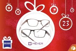 Hinter Türchen Nr.23 gibt es Meyer Eyewear Brillen mit 20% Rabatt + Aktion Zeiss DriveSafe | Offensichtlich Adventskalender