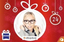 Hinter dem 24. Türchen sind heute die Brillen von Munic Eyewear mit 24% Rabatt im Offensichtlich Adventskalender
