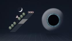 Abends und in der Nacht ist die Pupille weit geöffnet. Die Tiefenschärfe ist hier am geringsten.