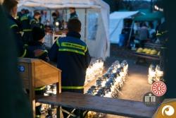 Bereitgestellt und gewartet werden die vielen Starklichtlampen vom THW (Technischem Hilfswerk)