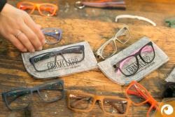 Brillen aus dem 3D Herstellungsverfahren von FRAMELAPP | Offensichtlich Berlin