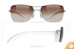 Die  Sonnenbrillen der D3 Kollektion von Markus T. sind nur 3,7 g leicht   Offensichtlich Berlin