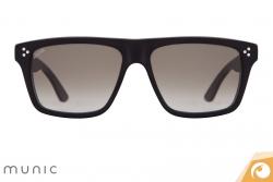 Gläser mit Verlaufstönung lockern die Sonnenbrille von Munic Mod. 5 c15 auf   Offensichtlich Berlin