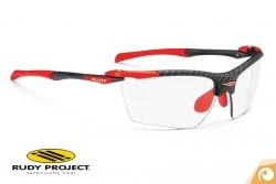 Rudy Project - Proflow - carbonium laser-red - ImpactX2 Golfglas Sportbrille Fahrradbrille | Offensichtlich Optiker Berlin