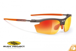 Rudy Project - Rydon -graphite-multicolor-multilaser-orange- Sportbrille Fahrradbrille | Offensichtlich Optiker Berlin