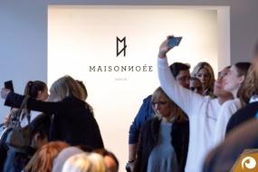 Selfie Offensichtlich FashionWeek FRAMERS MAISONNOEE