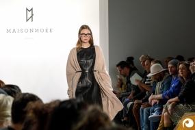 Eine Brille muss nicht unauffällig sein| Margotte Offensichtlich FashionWeek FRAMERS MAISONNOEE