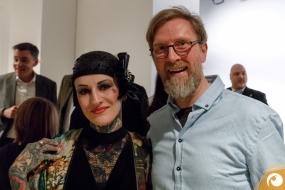 Sarah Settgast & Matthias Busche FRAMERS Berlin Offensichtlich FashionWeek FRAMERS MAISONNOEE