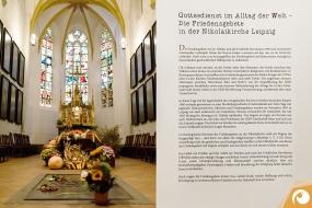Einblick in die Nikolaikirche Leipzig Ausgangspunkt der Friedlichen Revolution 1990 | Offensichtlich.de Berlin