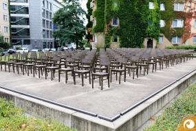 Das Holocaust Denkmal Leipzig an der Zentralstraße  | Offensichtlich.de Berlin