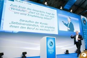 Marketing Experte Klaus J. Fink referiert über Mund-zu-Mund-Propaganda | Offensichtlich.de Berlin