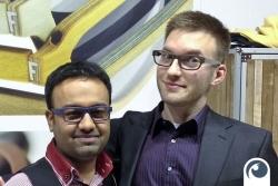 Norman trifft auch Chintu von Feb31st in London   Offensichtlich.de
