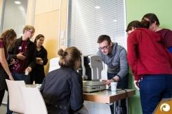 Großes Interesse am Sehcheck gab es auf dem Barcamp Erfurt | Offensichtlich.de